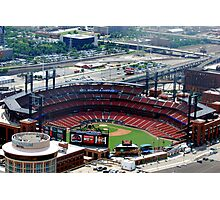 The new St. Louis Cardinals Stadium Photographic Print