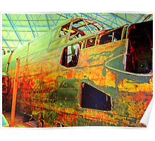 Halifax W1048 TL-S Wreck - HDR Poster
