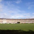Royal Crescent, Bath by Paul Woloschuk