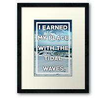 All Time Low- Tidal Waves Print Framed Print