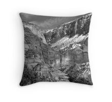 Hanging Valley on TimberTop Throw Pillow