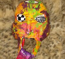 Mystical Mask by onewhitetree