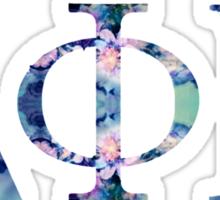 D PHI E Sticker