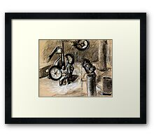 Giro d'Italia Workshop 1.00 Framed Print