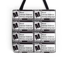 Mature Warning Tote Tote Bag