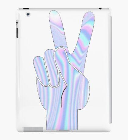 Holographic Peace Hand iPad Case/Skin
