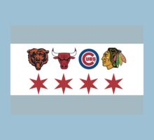 Chicago Sports 2 Kids Clothes