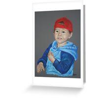 Ryan (pastel) Greeting Card