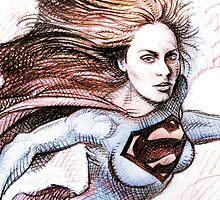 Supergirl by Lincke