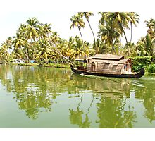 Kerela Boat Photographic Print