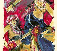 Hula Dancer by cherinow