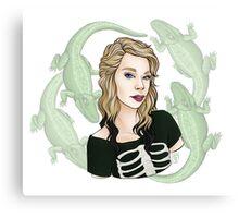 Grav3yardGirl || ScarlettDesigns Canvas Print