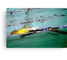 Hear the One 'bout  the Banana slipping on it's own Skin..  Canvas Print