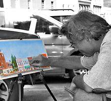 Street Artist II by Wendy Mogul