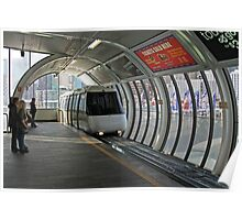 Sydney Monorail station, Darling Harbour (interior) Poster