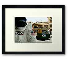 One Small Step For Man, One Giant Leap For Mannequins Framed Print