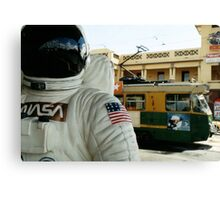 One Small Step For Man, One Giant Leap For Mannequins Canvas Print