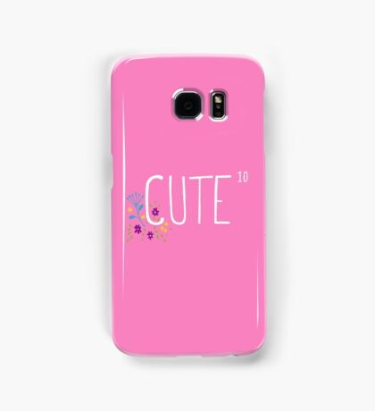 Cute to the power of 10 Samsung Galaxy Case/Skin