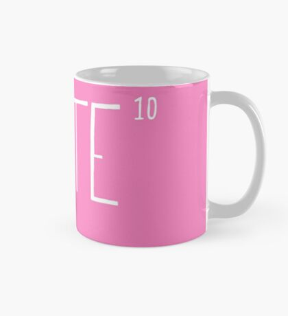 Cute to the power of 10 Mug