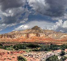 Sombrero Rock by Bill Wetmore