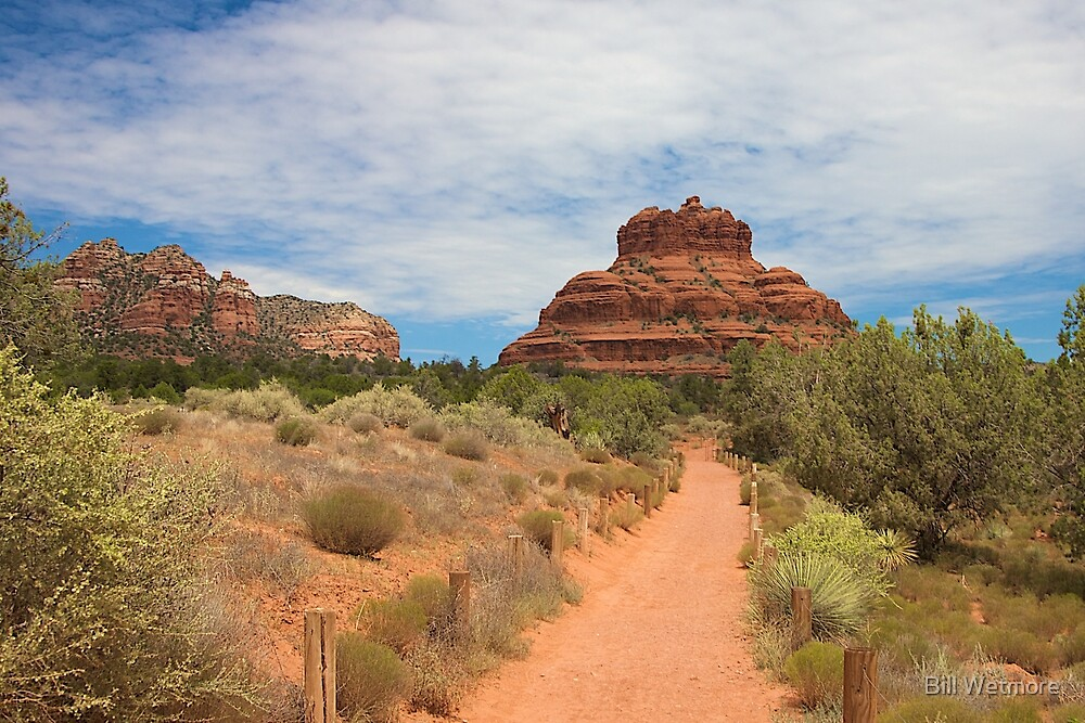 Path to Bell Rock by Bill Wetmore