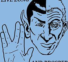 live long and prosper by Jamonred