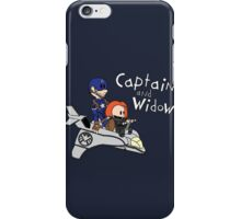 Captain and Widow iPhone Case/Skin