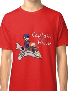 Captain and Widow Classic T-Shirt