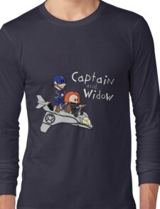 Captain and Widow Long Sleeve T-Shirt