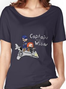 Captain and Widow Women's Relaxed Fit T-Shirt