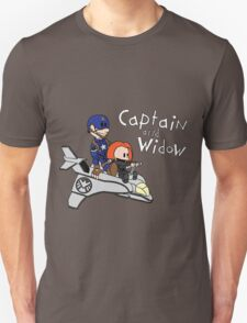 Captain and Widow Unisex T-Shirt