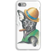 Chug In Bowler Hat iPhone Case/Skin