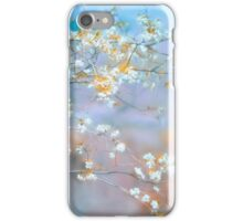 The White Flowers iPhone Case/Skin