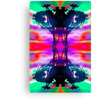 Ink Blot Psychedelic  Canvas Print