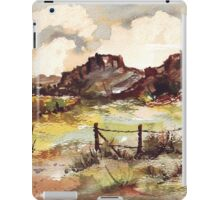 Reasons for getting over a Barbed wire fence (lol!) iPad Case/Skin