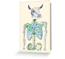 not a man, not a bull Greeting Card