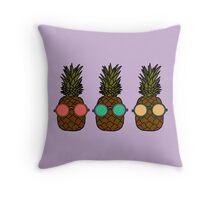 Pineapple Pair-of-eyes Throw Pillow