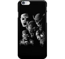 Monsters - Vampire, Werewolf, Zombie, Mummy and Frankenstein iPhone Case/Skin