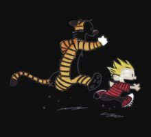 Calvin And Hobbes runner Kids Clothes