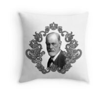 Freud Frocks Throw Pillow