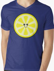 Cute Lemon Mens V-Neck T-Shirt