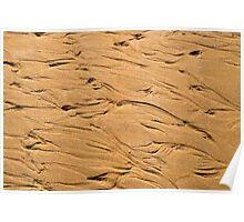 Sand Patterns #1 Poster