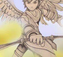 Pit (Kid Icarus) Sketch Sticker