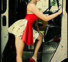 Krispy Kreme Girl Meets FedEx Guy by Tara Paulovits