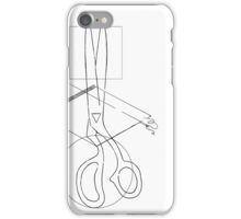 TAILOR SCISSOR iPhone Case/Skin
