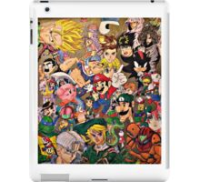 Character Collage iPad Case/Skin