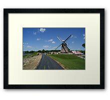 Fulton Windmill Framed Print