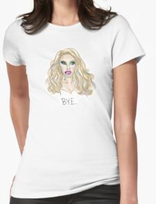 Draw Queens: Willam Womens Fitted T-Shirt