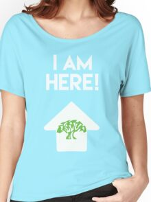 I Am Here Collection - Animal Kingdom Women's Relaxed Fit T-Shirt