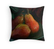 Sensation Pears Throw Pillow